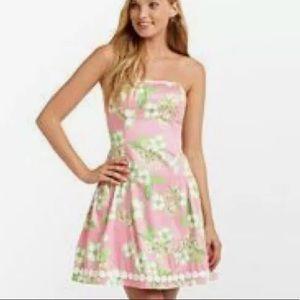 Lilly Pulitzer Jordan Dress Tootie Butterfly Print